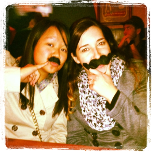 Mustache Night at Optimist Club. Hotel Congress, January 2013