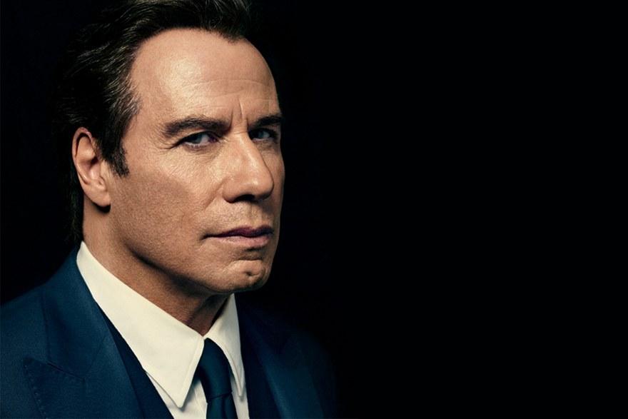 John Travolta in Matteo Perin per GQ