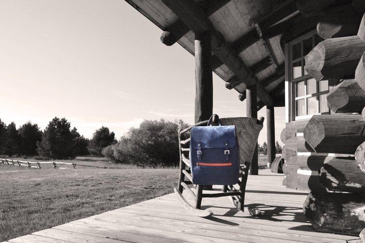 italian blue leather backpack matteo perin.jpeg