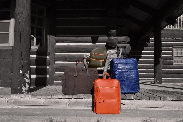 italian green orange blue leather backpack matteo perin.jpeg