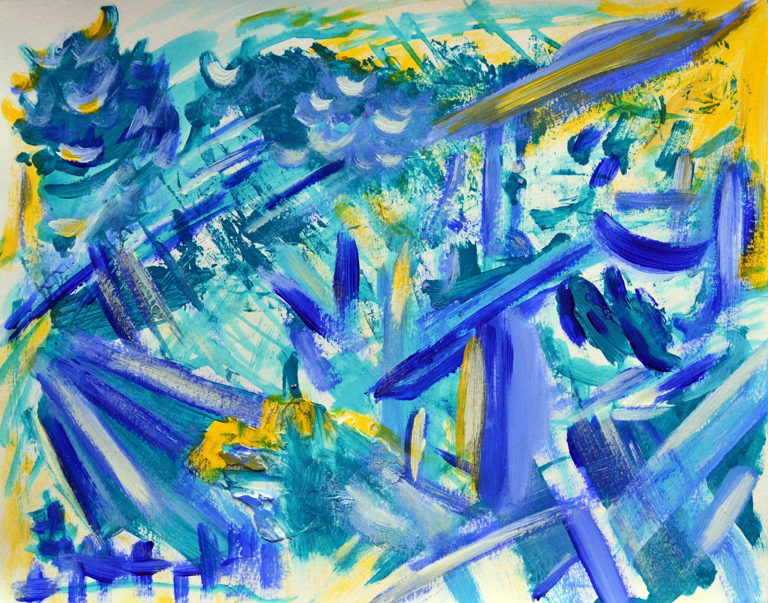 Blue Swords