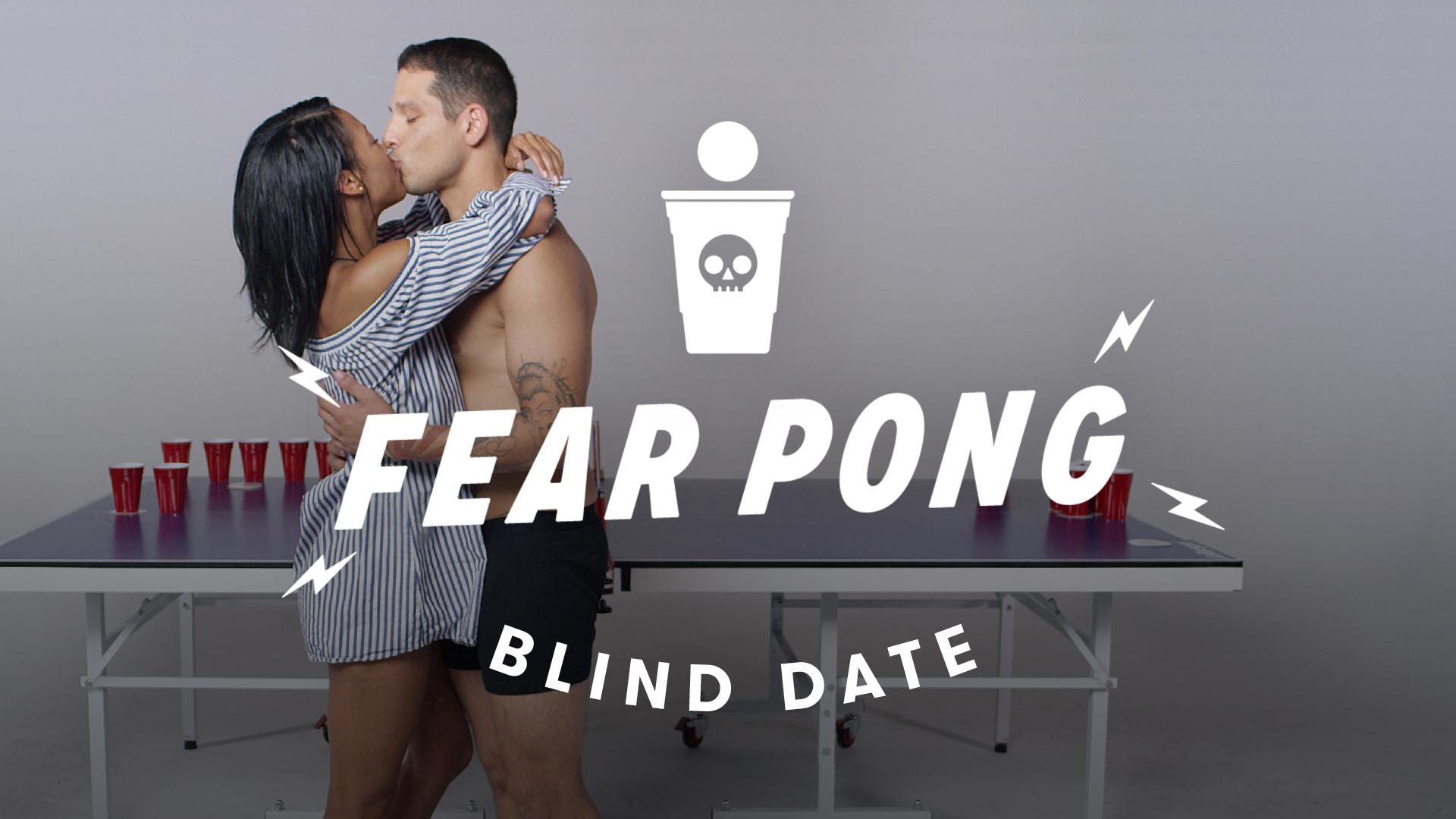 Blind Dates Fear Pong – Ella vs. Carlos - 👁 12.8 MM | 👍 128K | 💬 5.7K