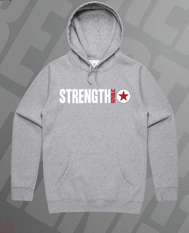 Hoodies! ☃️❄️🌈 just in time for this wicked weather!! THESE WILL BE AVAILABLE BY PRE ORDER ONLY! So tag yourself in this post and we will inbox you when it's time to order 🙏🙌 #hoodie #winter #strengthrepublic