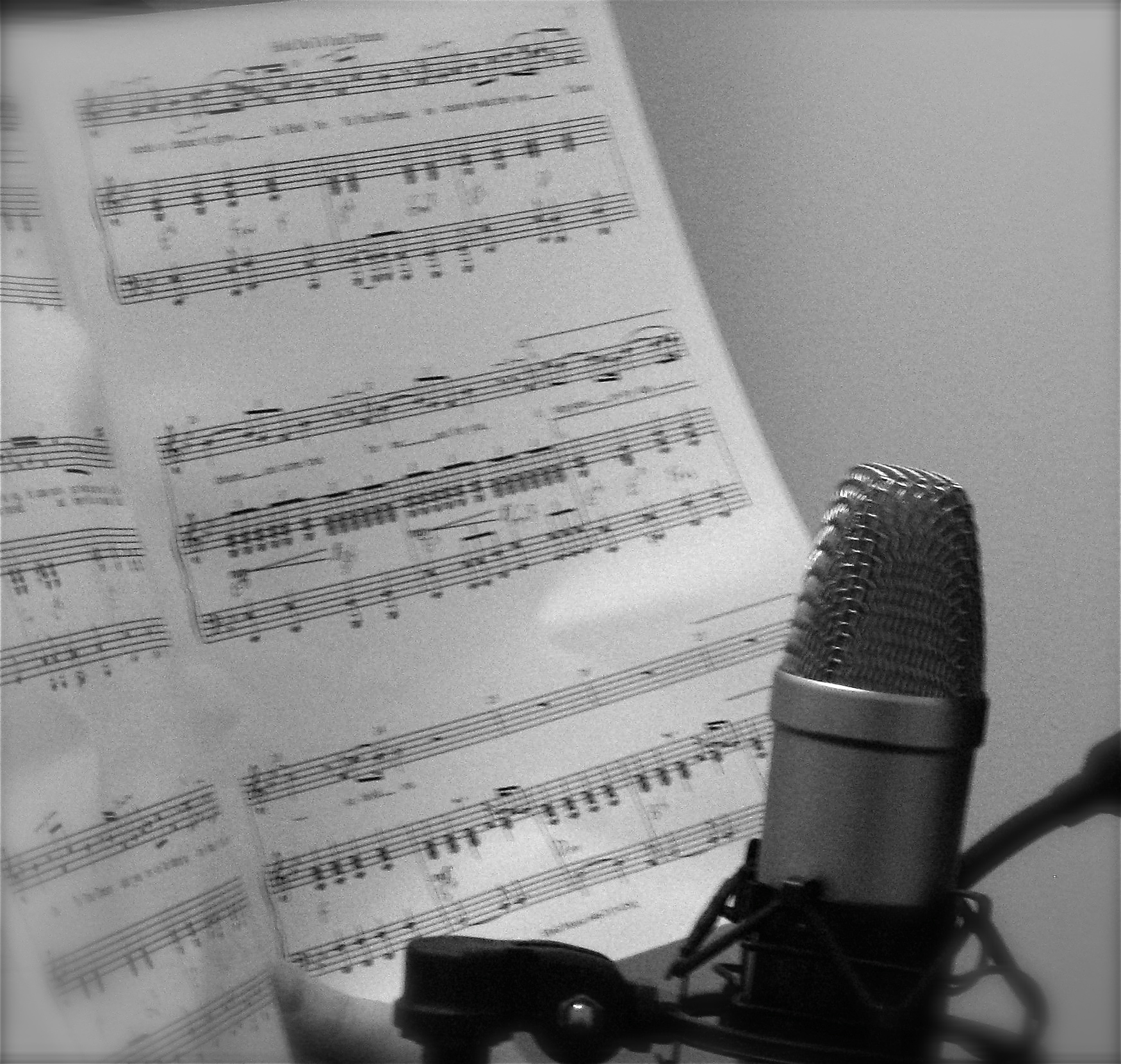 Music & Mic.   Photo: Julie Haas