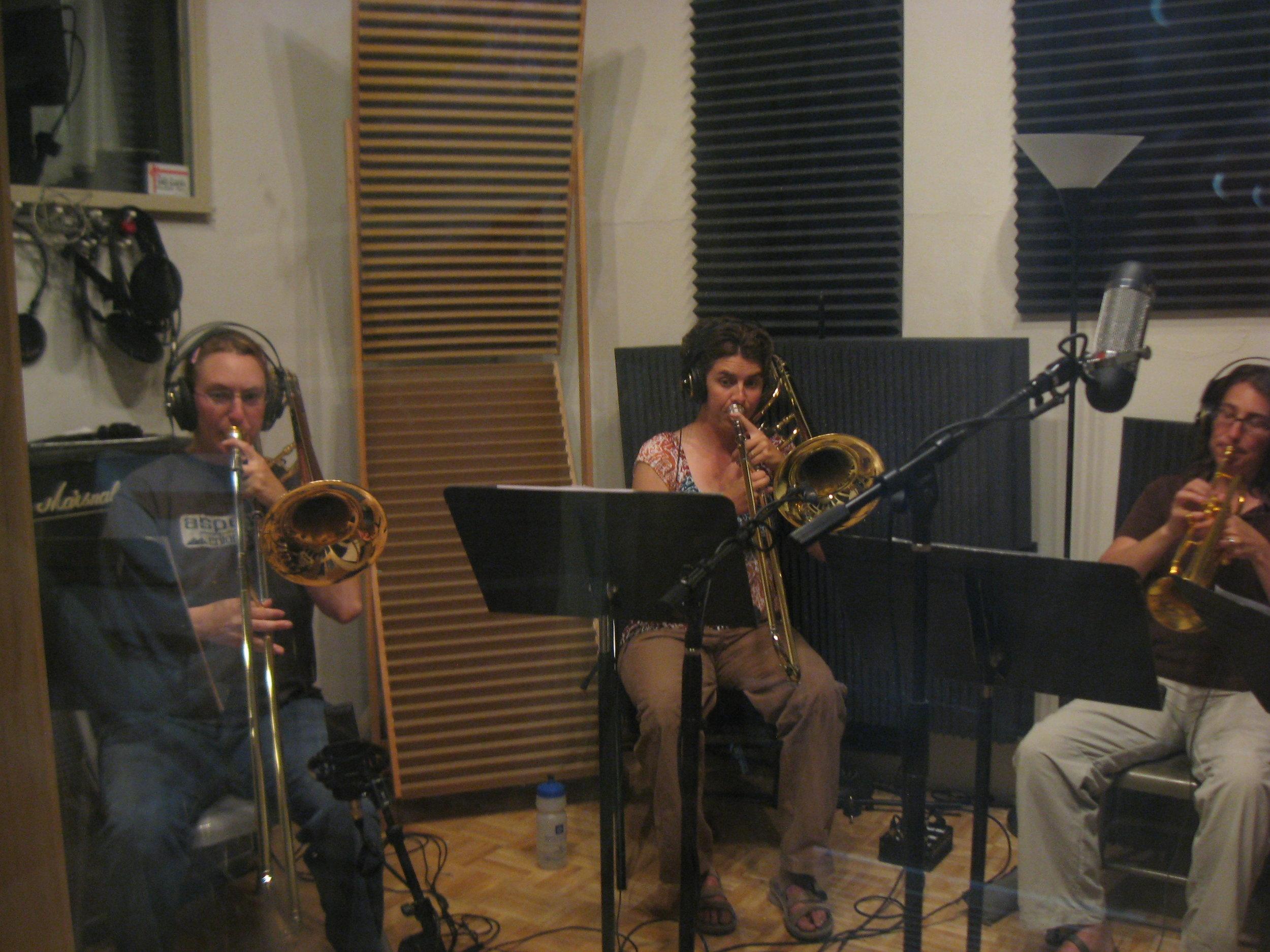 La Bella Brass Quintet (1).   Photo: Ernest Ebell
