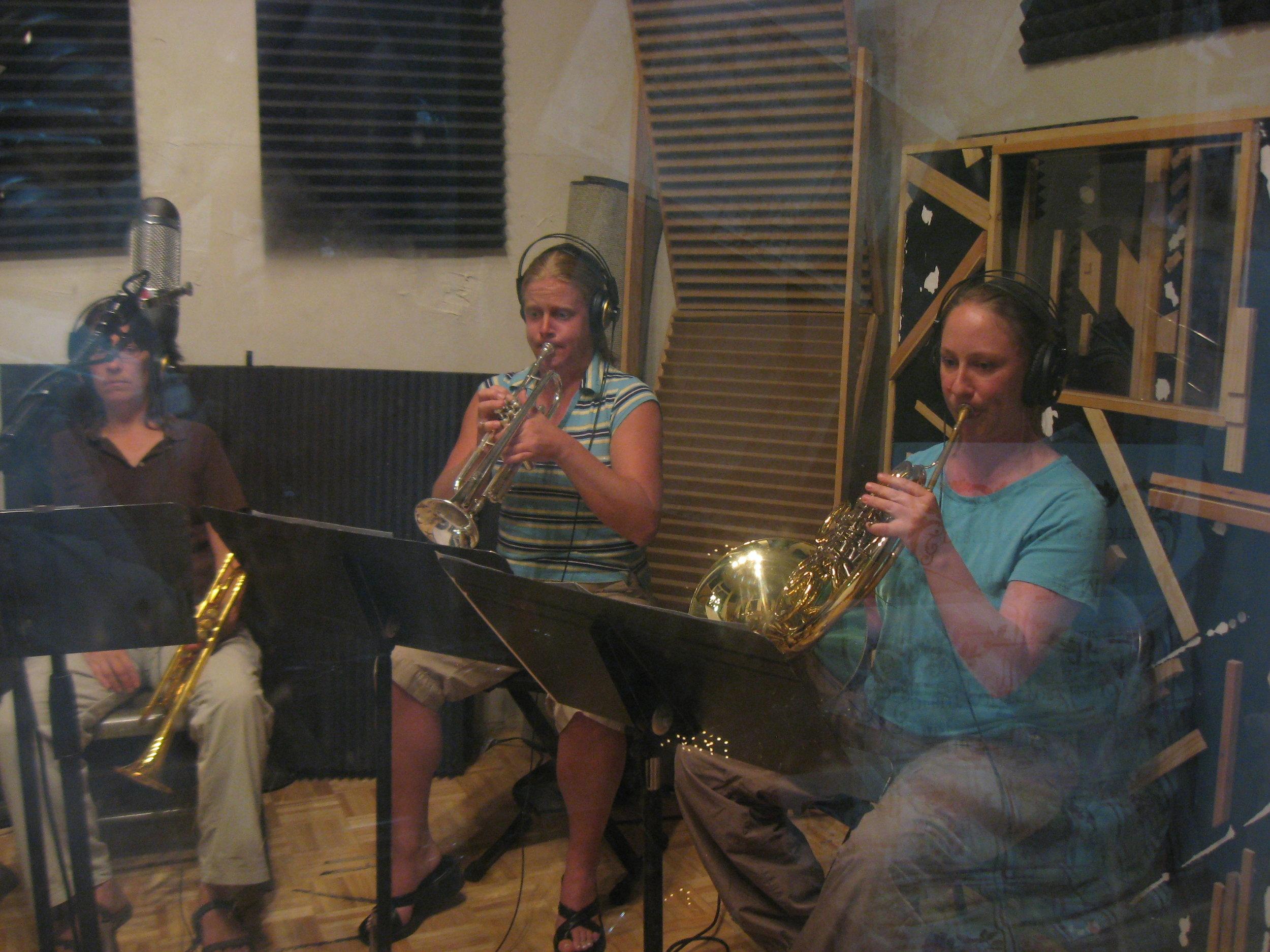 La Bella Brass Quintet (2).   Photo: Ernest Ebell
