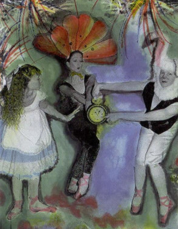 Wonderland Follies.   Artwork: Loren Ellis