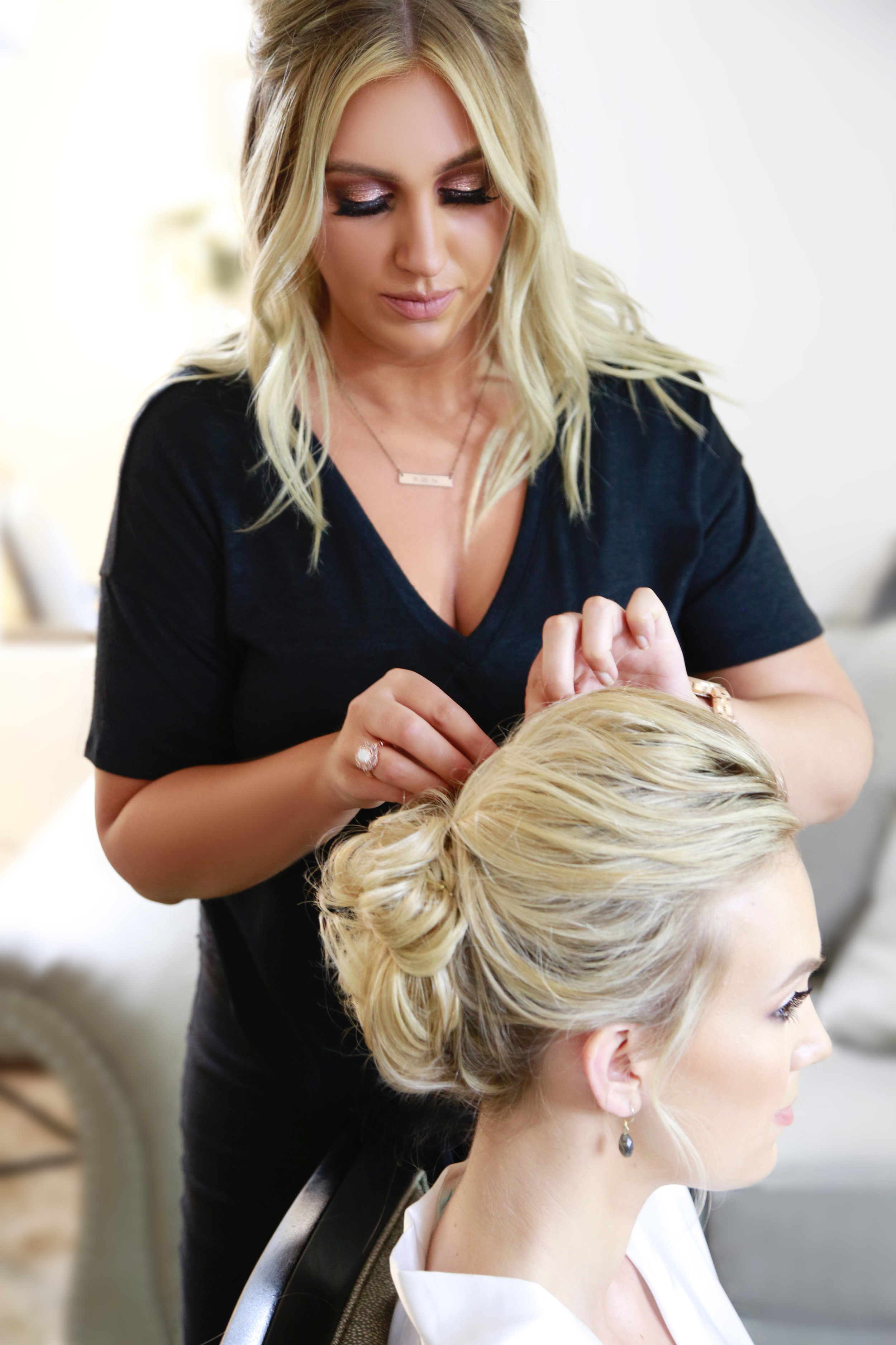 DANI D - Dani has been a featured stylist at Beauty Studio Inc for over 5 years.She specializes in braids, boho, polished hair looks as well as makeupTo view examples of Dani's work, please click on each link below to expand her galleries: