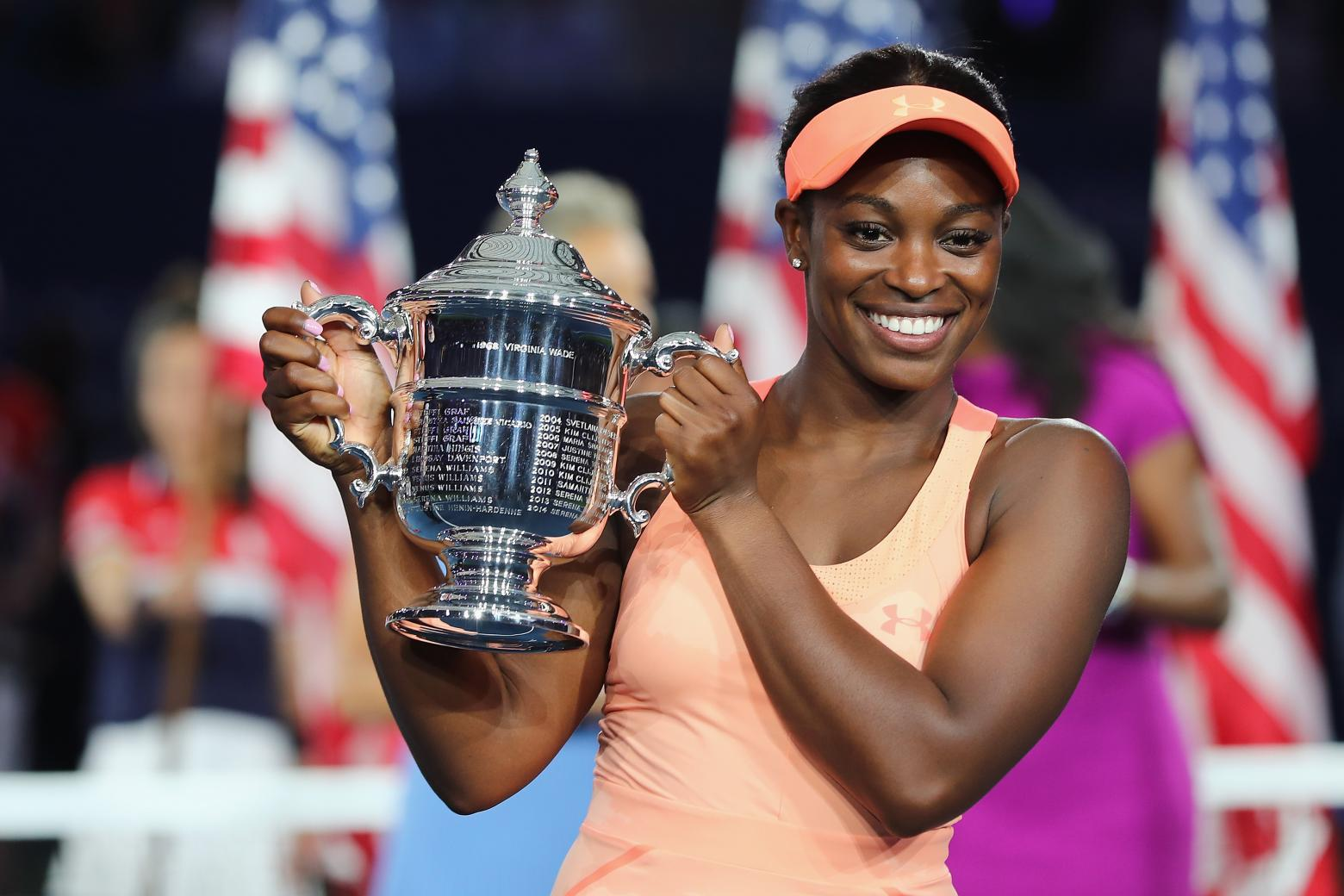 Sloane Stephens wins her first U.S. Open in spectacular fashion after coming into tournament unranked.   Photo courtesy of WTA Tennis