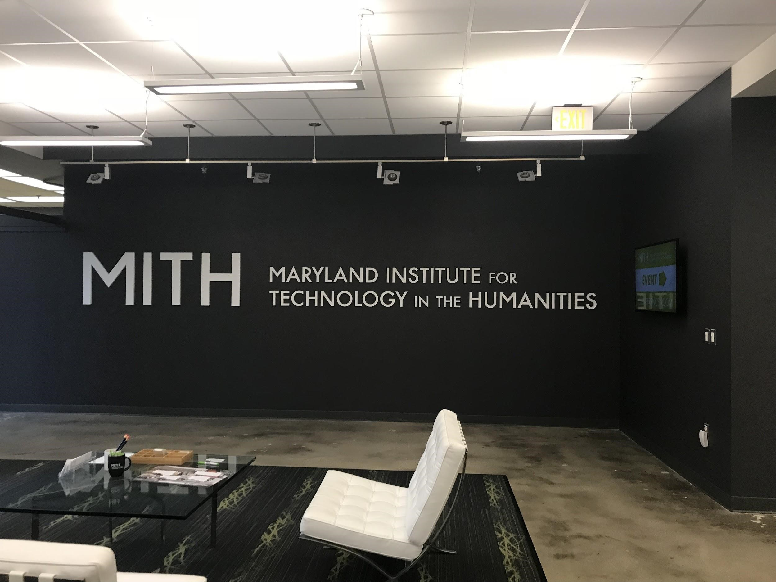 On Tuesday, Nov. 8, 2017, Walter Forsberg, a media archivist for the Smithsonian National Museum of African American History and Culture, came to the Maryland Institute for Technology in the Humanities (MITH) to discuss media preservation. MITH is dedicated to researching how technology can help us learn more about culture. Photo courtesy of Amina Lampkin.