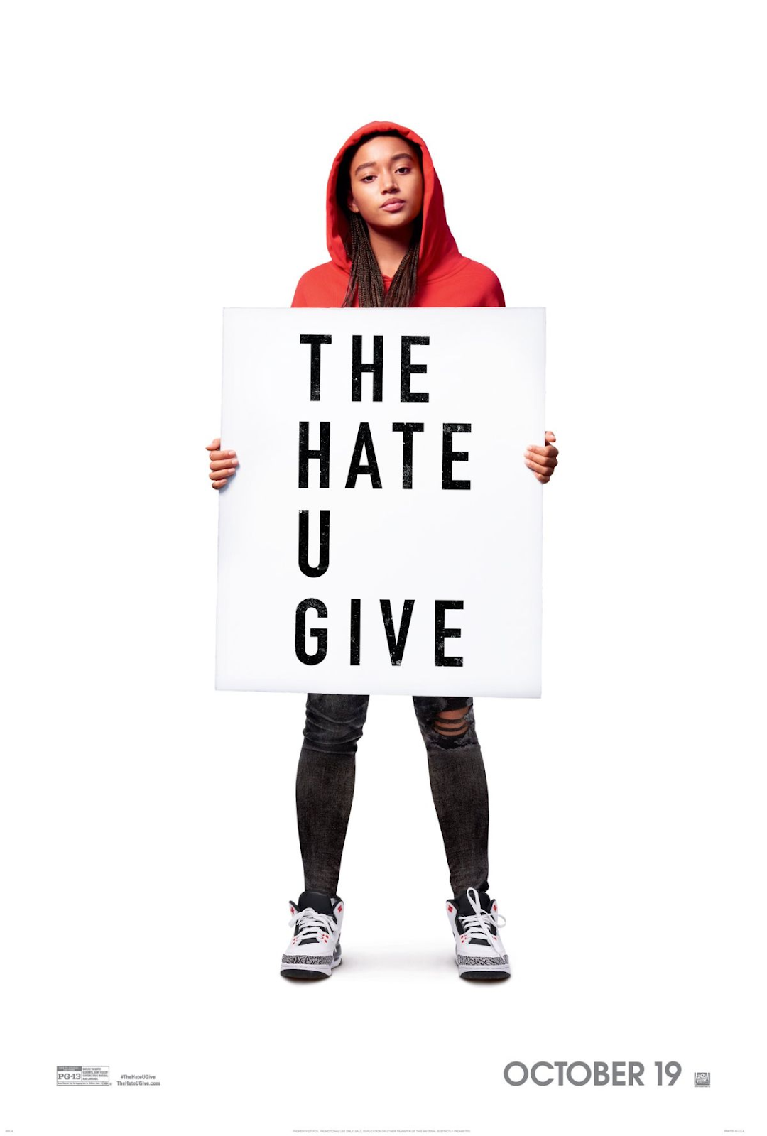 """""""The Hate U Give,"""" based upon the book by Angie Thomas premiered in theaters October 19th. Photo courtesy of IMDb."""