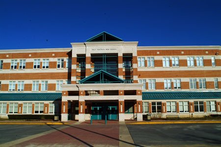 Photo of Walter Whitman high school. Courtesy of MCPS website.