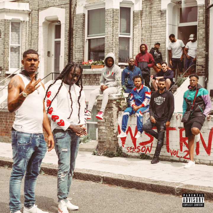 """WSTRN's """"WSTRN Season Vol. 2"""" cover art. Obtained from Complex."""