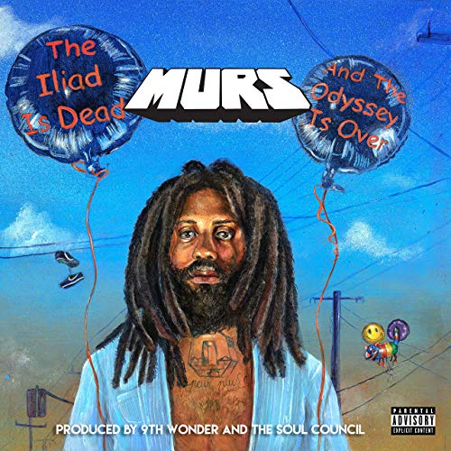 """Murs' """"The Iliad is Dead and The Odyssey is Over"""" cover art. Obtained from Amazon."""