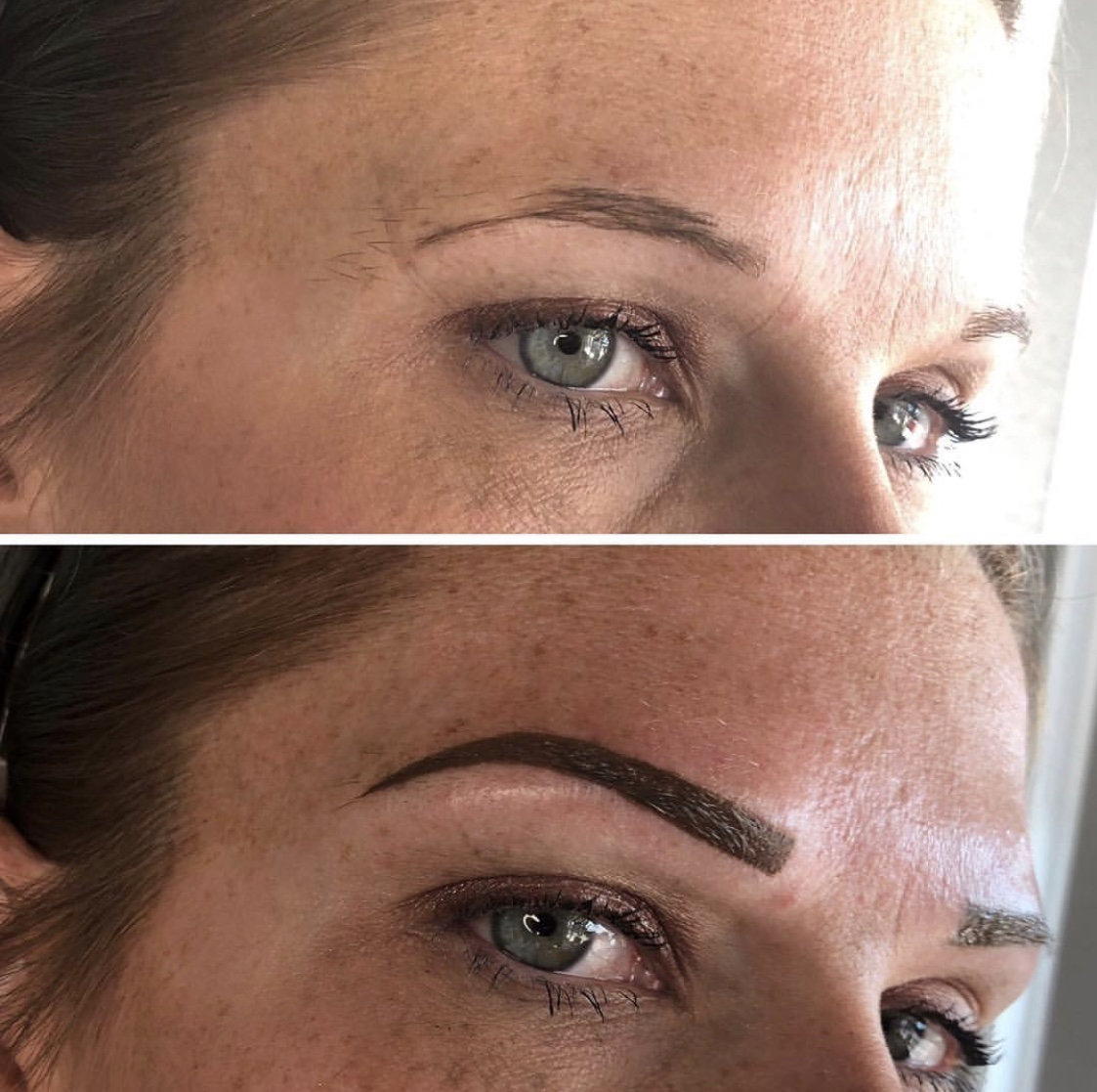 Solid Filled Brows $499    If you prefer fully pencilled - in brows the 'full filled' permanent brow is the choice for you!