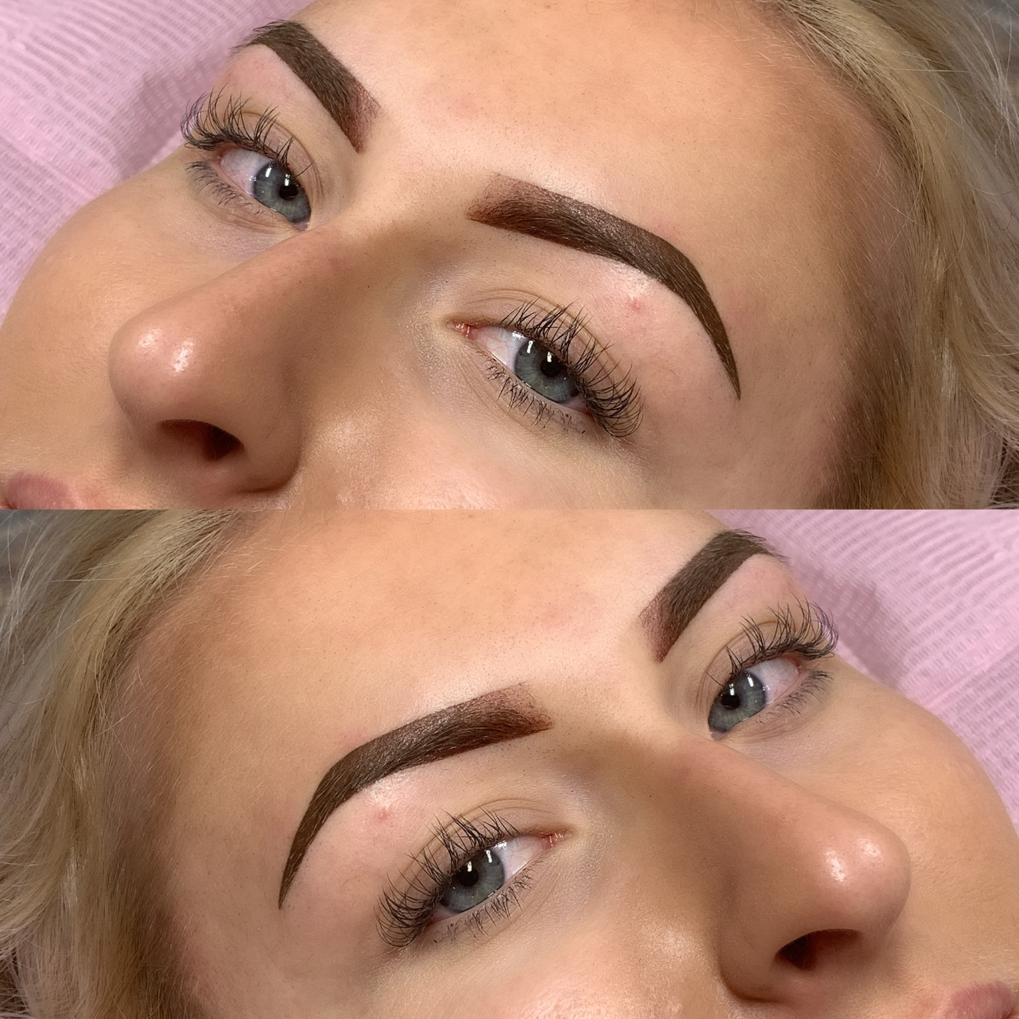 Permanent Ombré Brows - heals to a tinted brow look