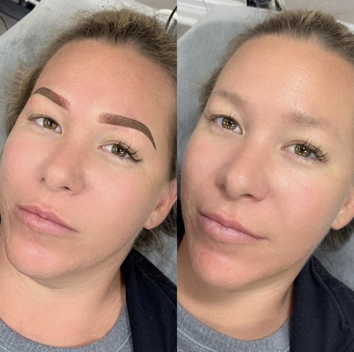 Permanent Ombré Brows