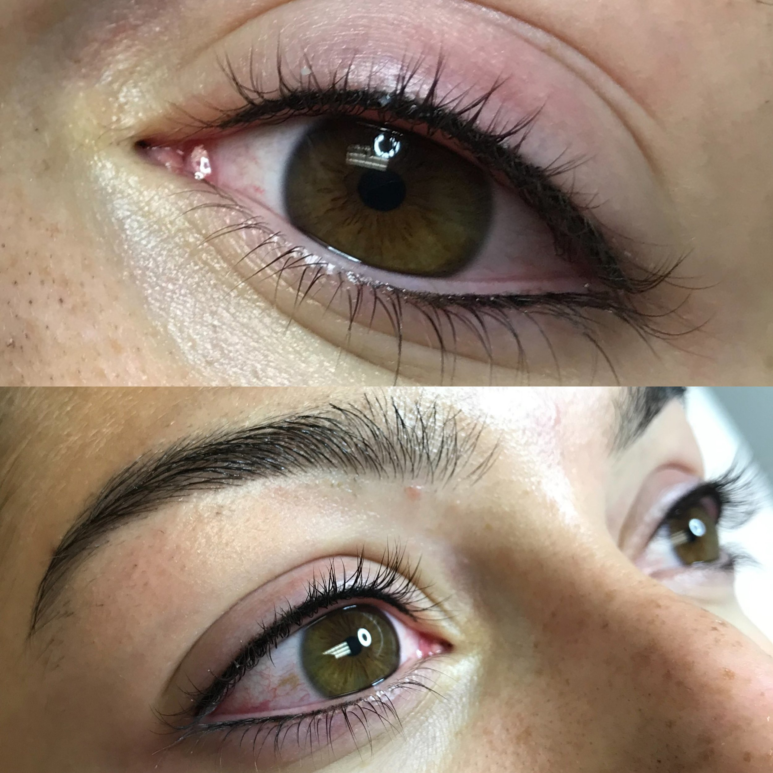 Lash Enhancement with a subtle Lower Eyeliner