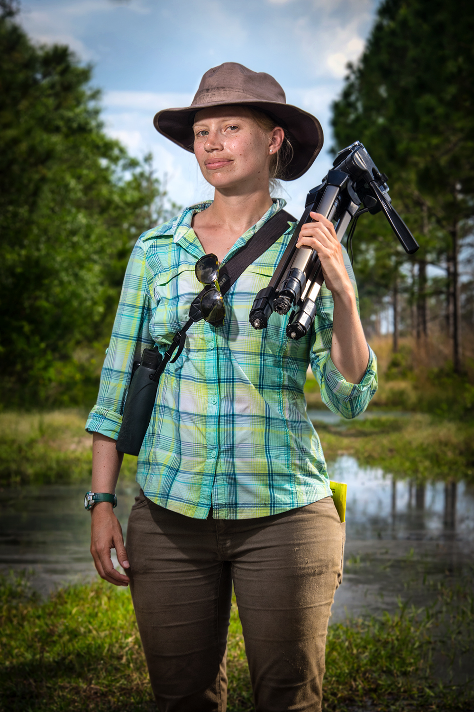 Emily Elderbrock    Florida Scrub-Jay Graduate Student   Archbold Biological Station  2015/4/15