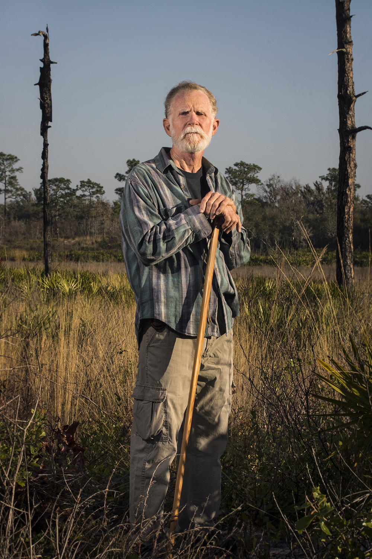 "Steve ""Sticky"" Morrison    Nature Preserve Caretaker   Tiger Creek Preserve  2017/2/12"