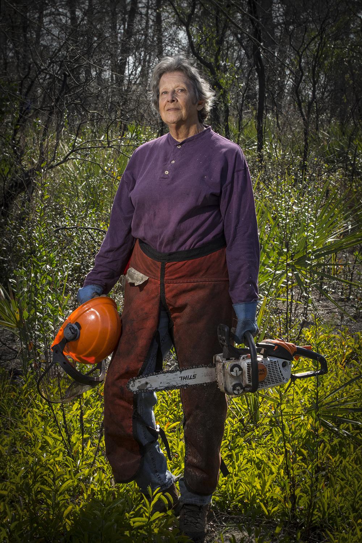 Marilyn Blair    Retired Educator, Habitat Restoration Volunteer   Carter Creek State Preserve  2017/1/28