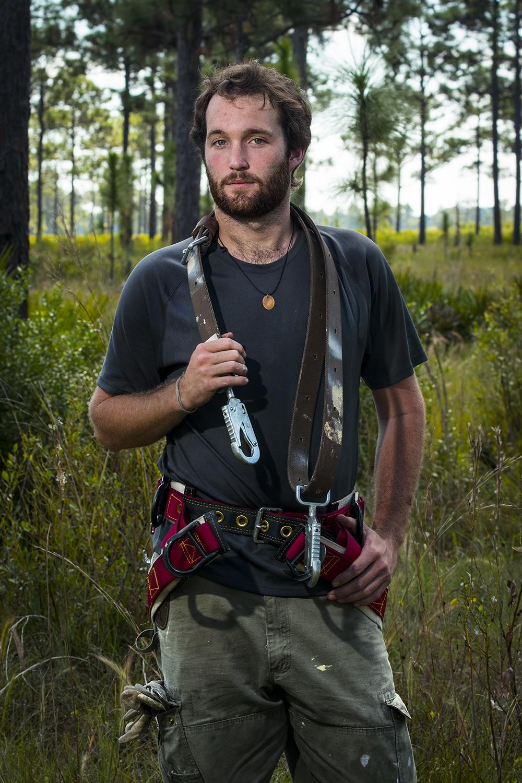 Stephen Mugel    Red-cockaded Woodpecker Seasonal Technician   Avon Park Air Force Range  2014/10/29