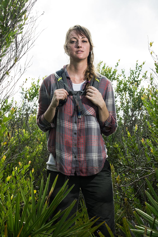 Jess Fort    Gopher Tortoise Researcher   Avon Park Air Force Range  2016/8/28
