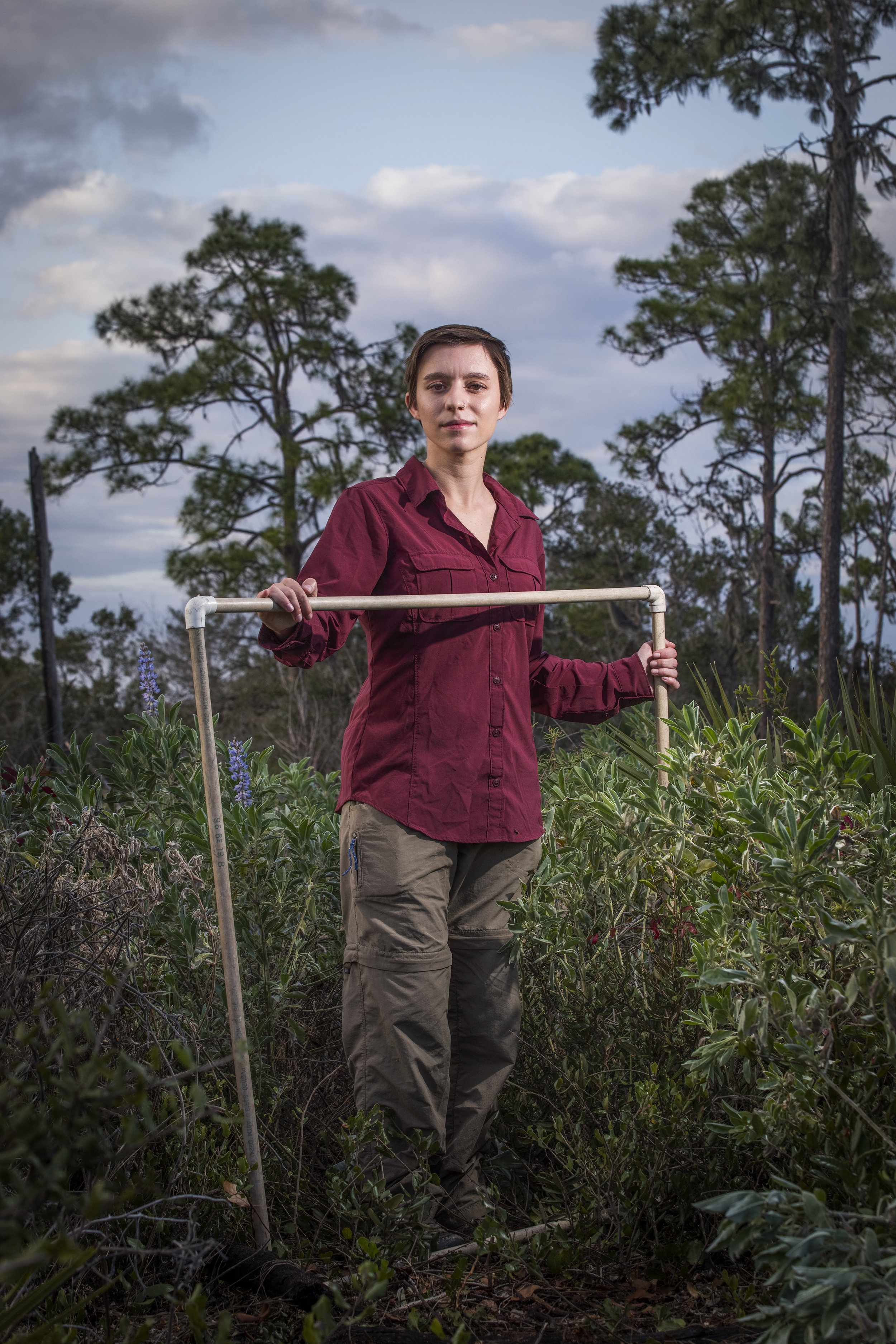 Marisa Grillo    Plant Ecology Research Intern   Archbold Biological Station  2019/1/13