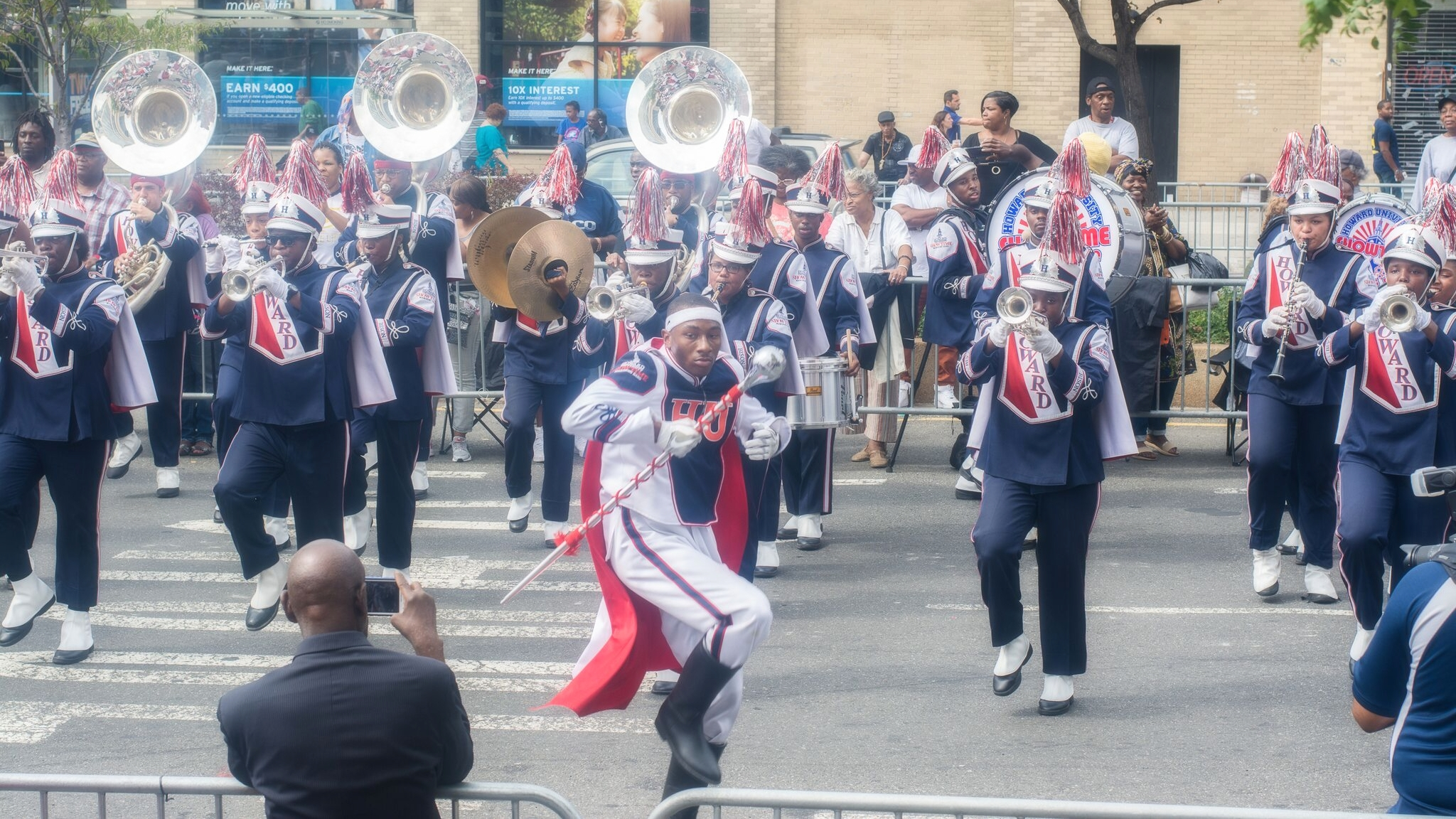 "Howard University's  ""SHOWTIME"" Marching Band"