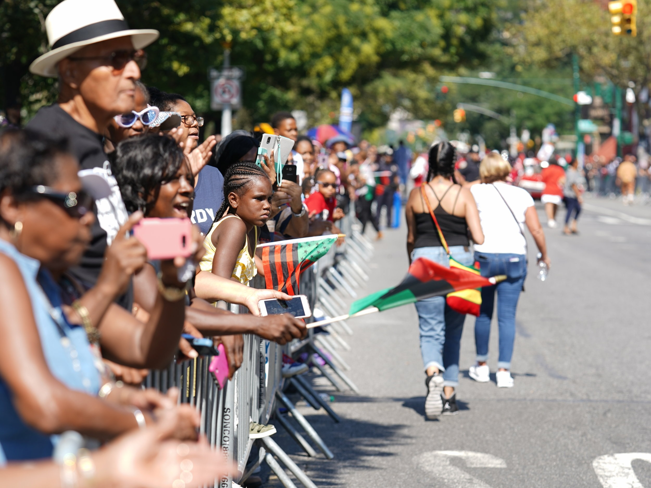 1975 - The 7th annual African American Day Parade makes American history as it grows from its 1969 marching and viewing audience of 200,000 to well over 900,000, becoming one of the largest parades of Black American culture.