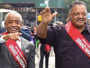 2017 - Civil rights activists, Al Sharpton and Jesse Jackson are honored as Grand Marshals of our 48th annual African American Day Parade!