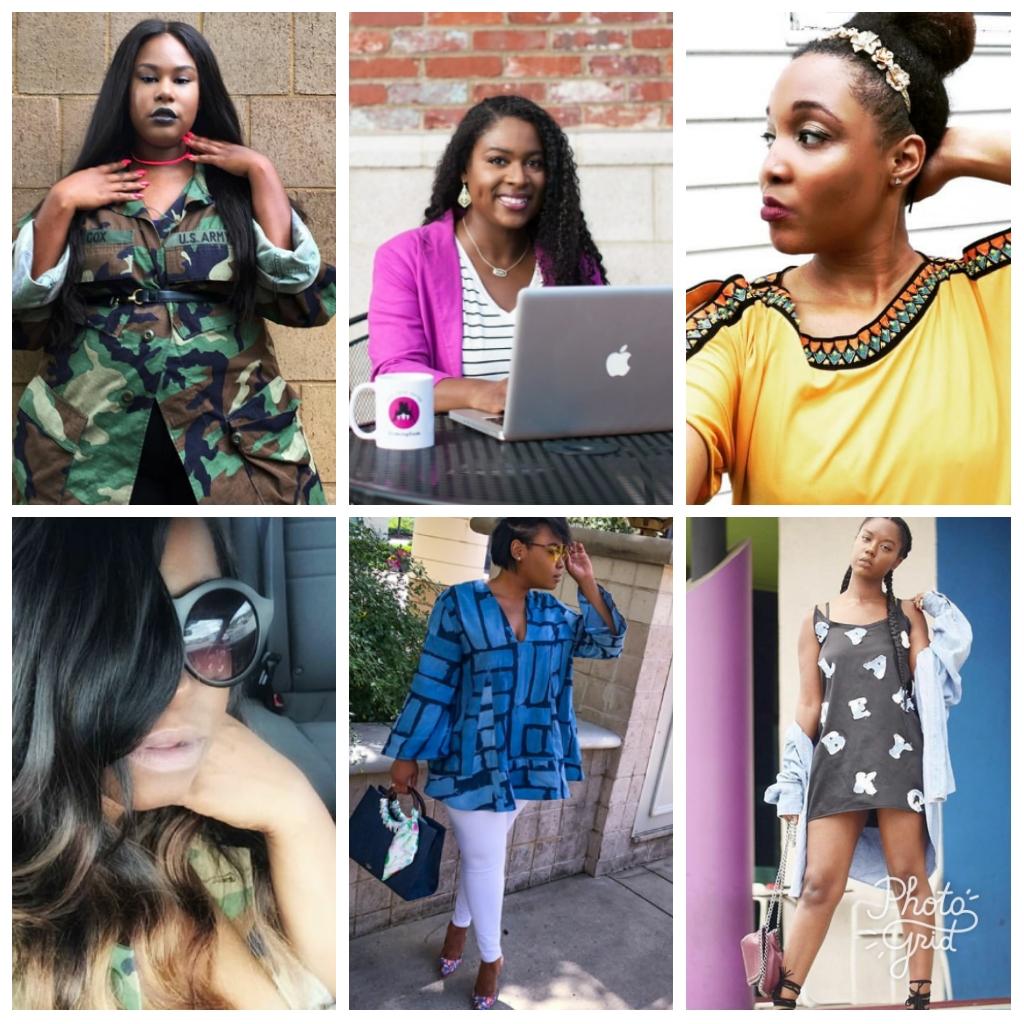 Top (l to r): Christena Melea, Javacia Harris Bowser, Andrea Turner Bottom (l to r): Keicia Shanta, Aliscia Gilmore, Andie Allen Photo Credit: Instagram