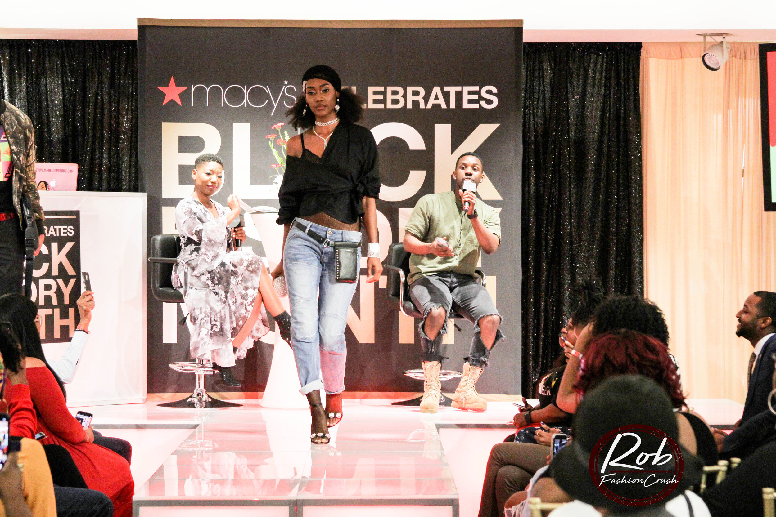 Macy's Celebrates Black History Month - Macy's Lenox Square Mall