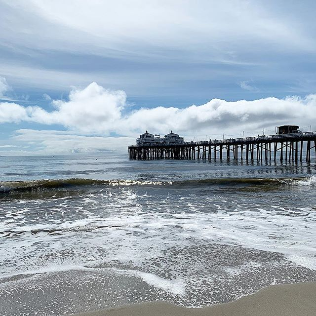 Sunday splendour in moody Malibu 🖤 The rain stopped leaving the faintest whiff of spring in the air ✨ . . #malibu #malibupier #ocean #california  #surfsirens #surflife #surfstyle #surfsup #instastyle #photooftheday #instagood #surfinglife #surflife #instafashion #fashionaddict #fashioninspiration #picoftheday #surf #surfergirl #girlswhosurf  #girlswhosurf #styleoftheday #styledaily #theworldisbeautiful #Instadaily #potd #igdaily #surfgirl #surfer #instasurf #womenwhosurf
