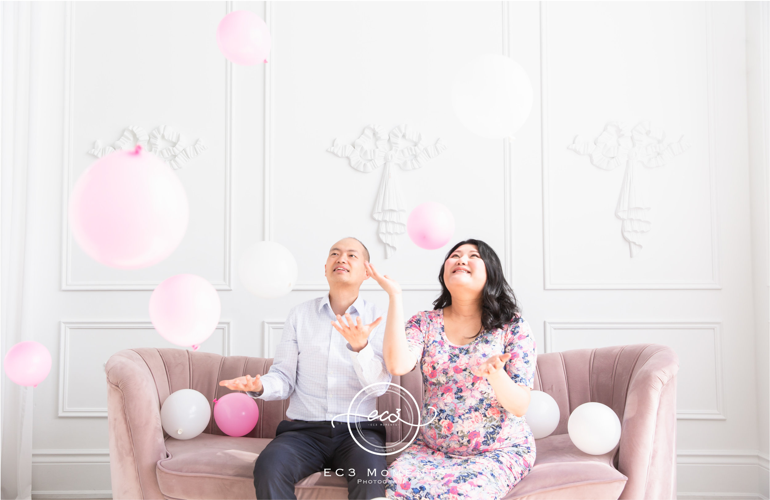 Maple & Bryant Mint Room Studios Floral Maternity Session 1.jpg