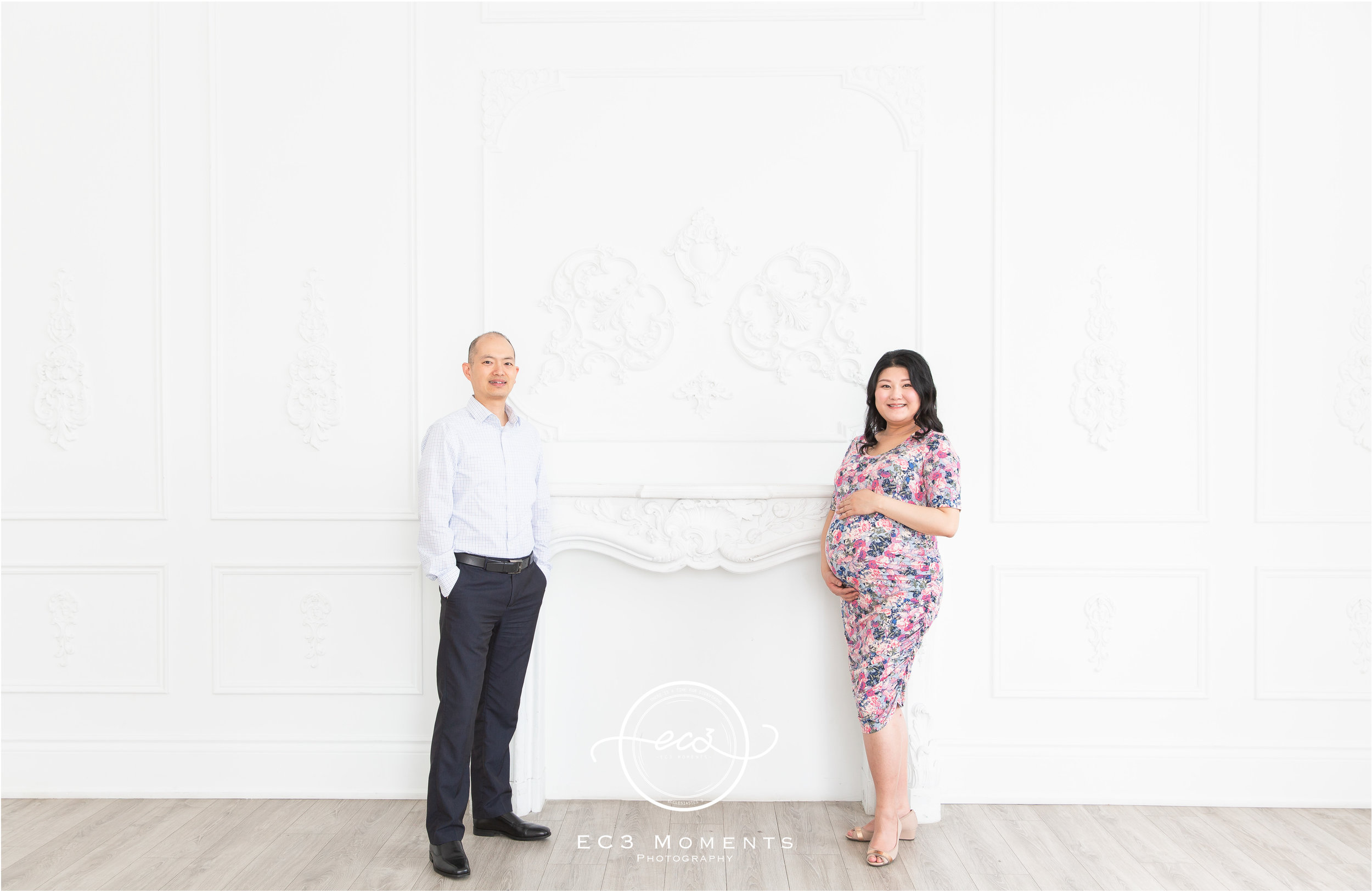 Maple & Bryant Mint Room Studios Floral Maternity Session 3.jpg