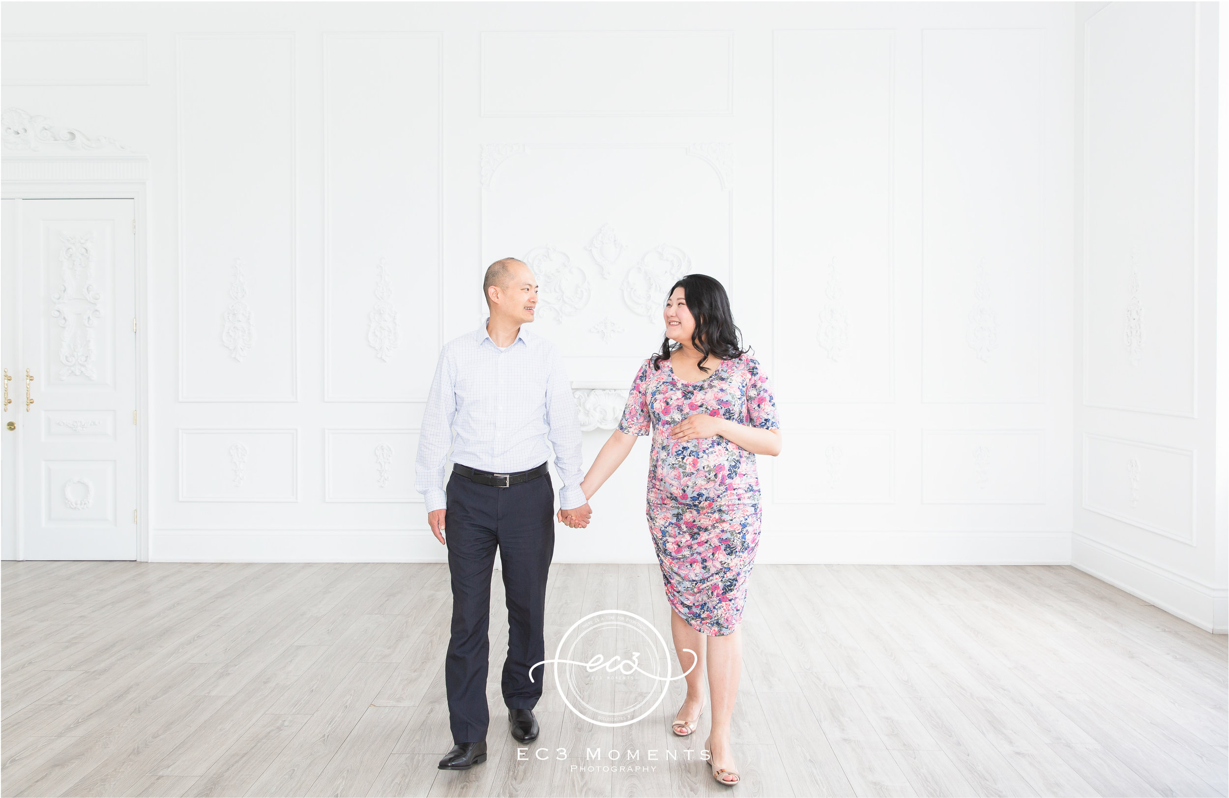 Maple & Bryant Mint Room Studios Floral Maternity Session 4.jpg
