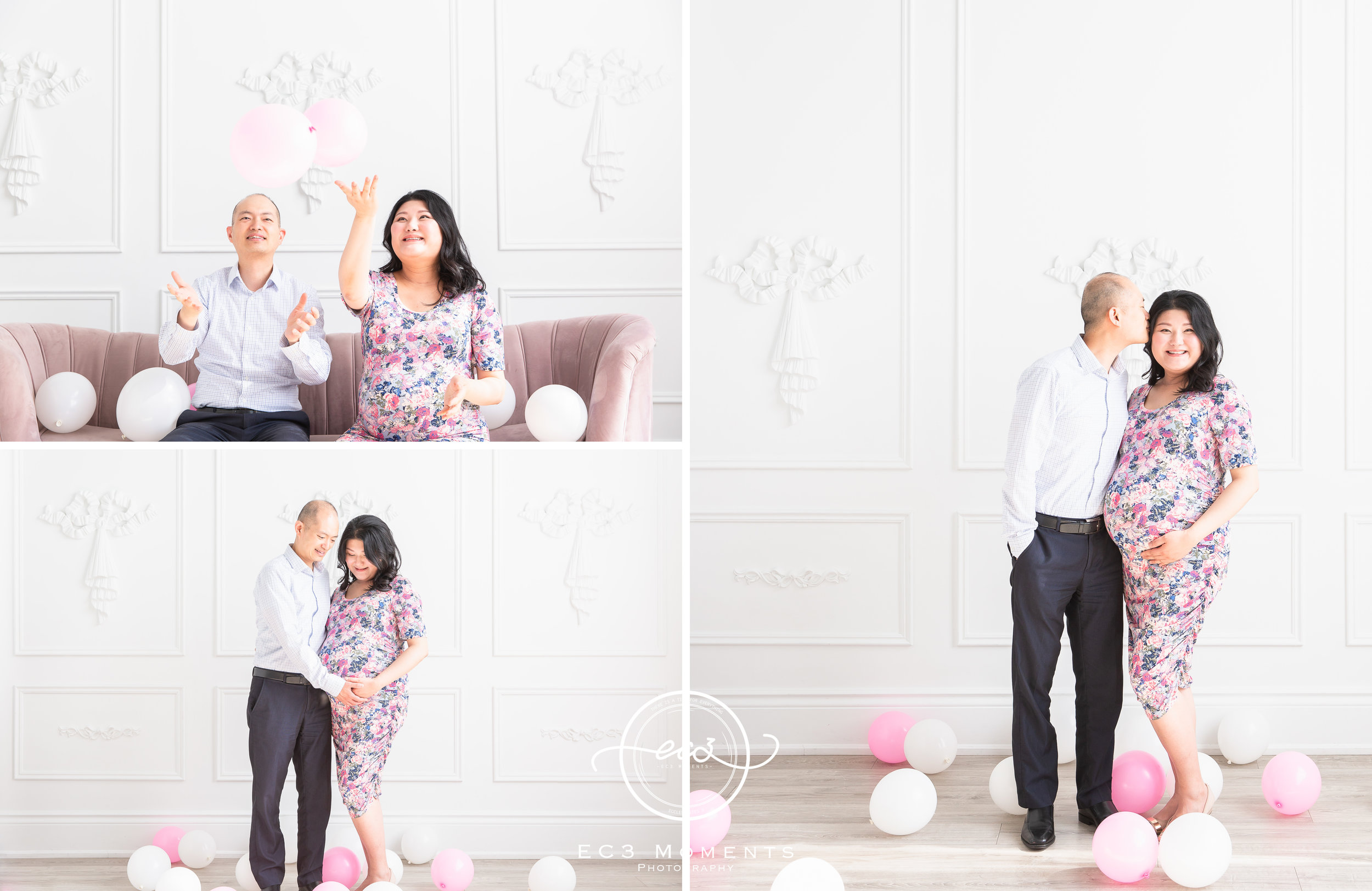 Maple & Bryant Mint Room Studios Floral Maternity Session 7.jpg