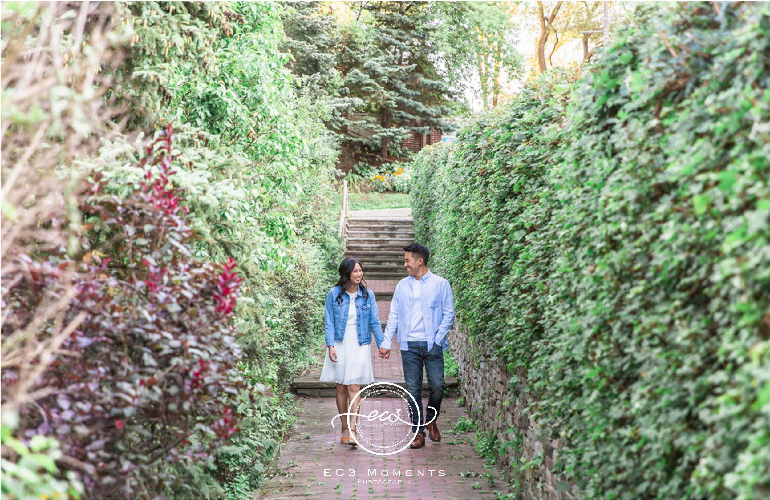 Alexander Muir Memorial Gardens Tennis Court Toronto Engagement 1.jpg