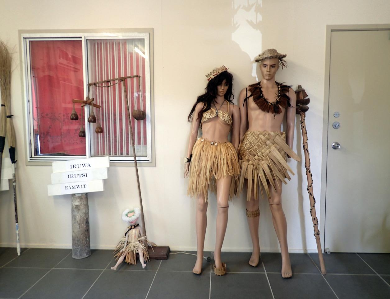 Museum exhibits, Nauru 2018