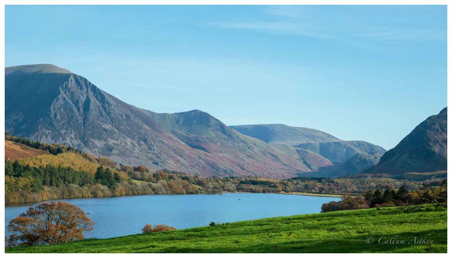 Looking Across Loweswater