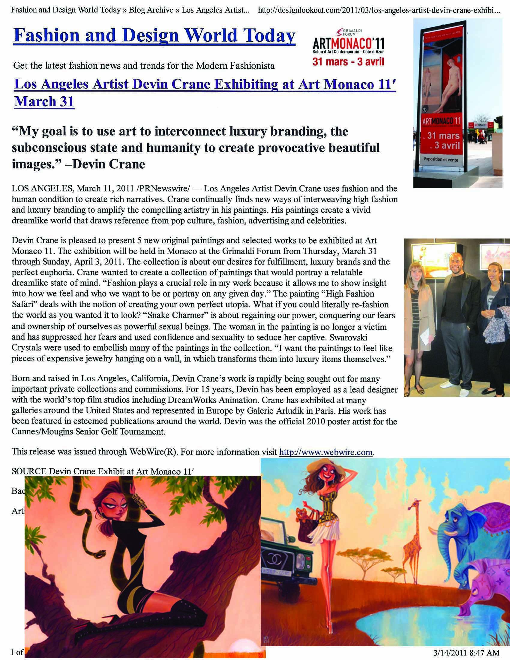 Art Monaco Press -