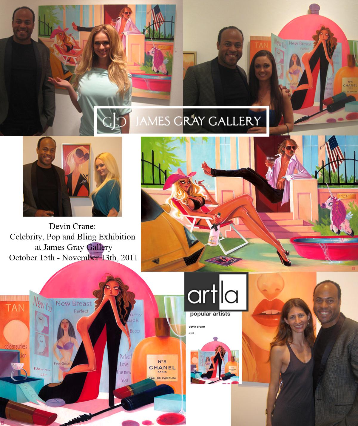 James Gray Gallery Press -
