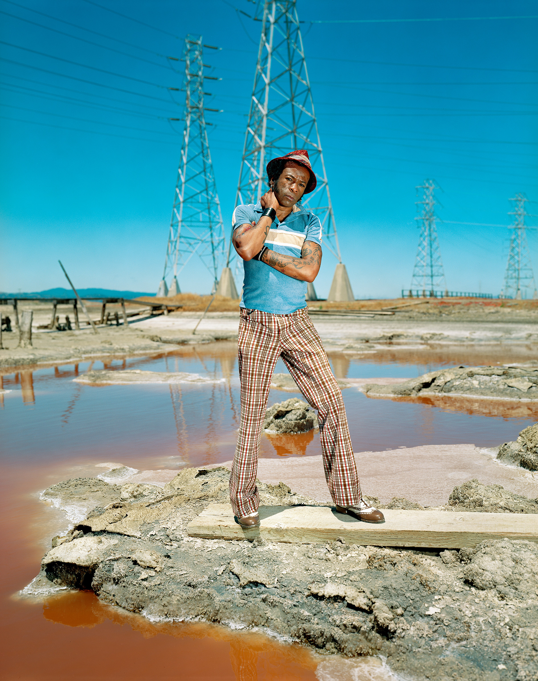 """Willie,   from the """"Salinas"""" series. Chromogenic Print ( Collezione dell'artista ) 76.83 x 102.2 cm. (30 1/4 x 40 1/4 inch.)"""