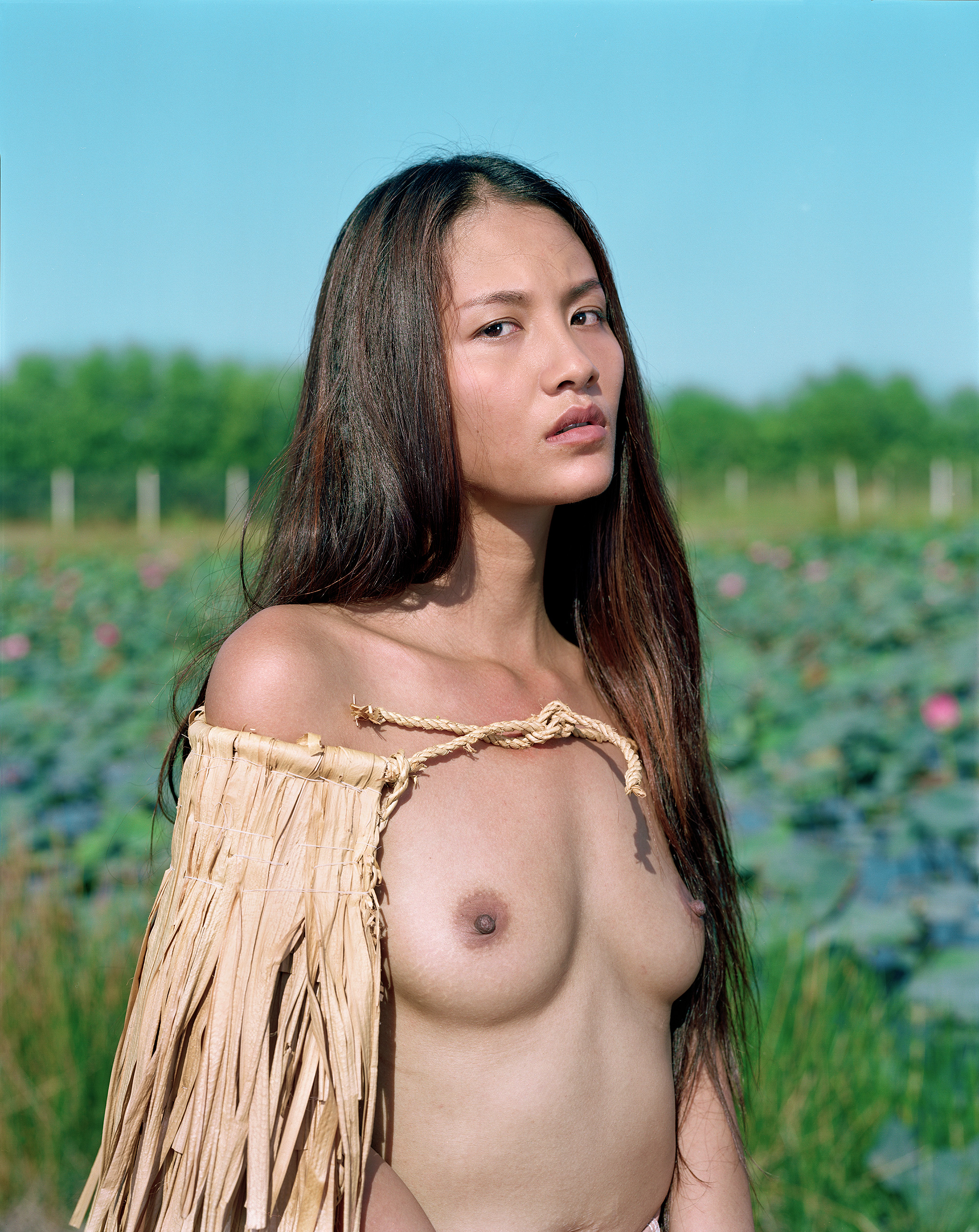 Phượng,   from the '{City of Virgins}' series. sRGB1966 ( Collection de l'artiste ) 127.63 x 153.03 cm.(50 1/4 x 60 1/4 inch.)