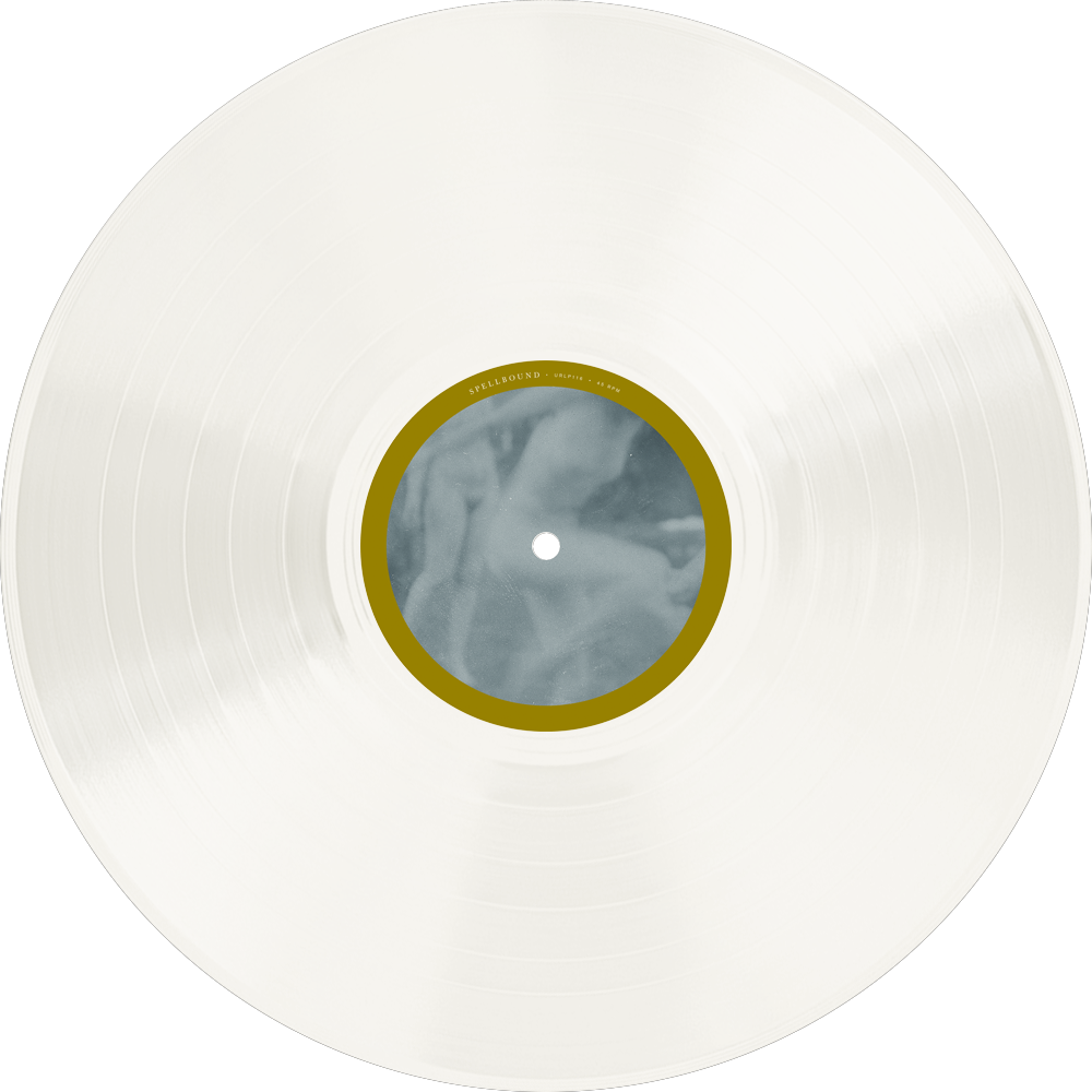 """• Cloudy Clear Vinyl (limited to 100 - Artist Edition) / """"Spellbound"""" Side"""