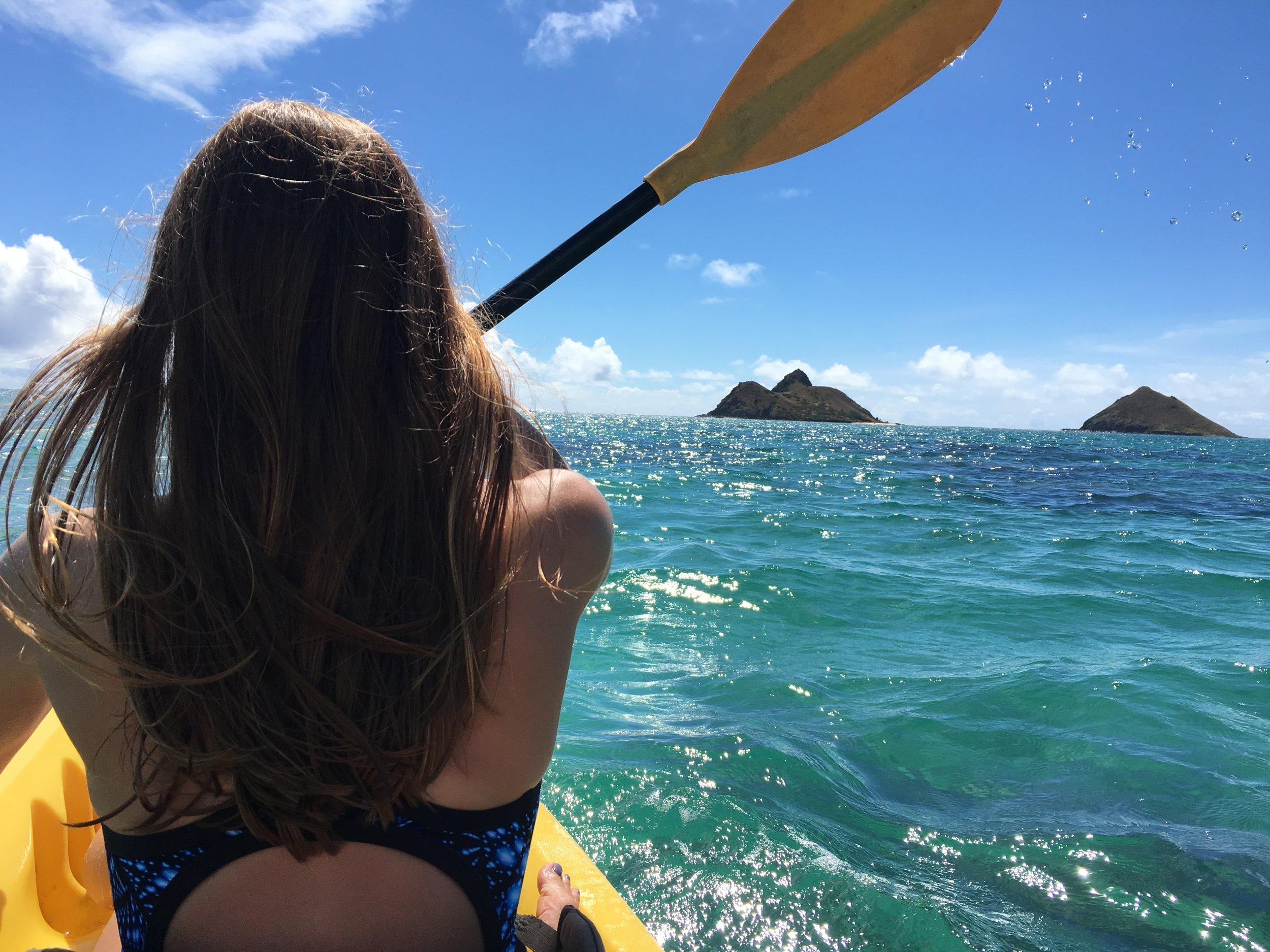 Kayaking Near Lanikai