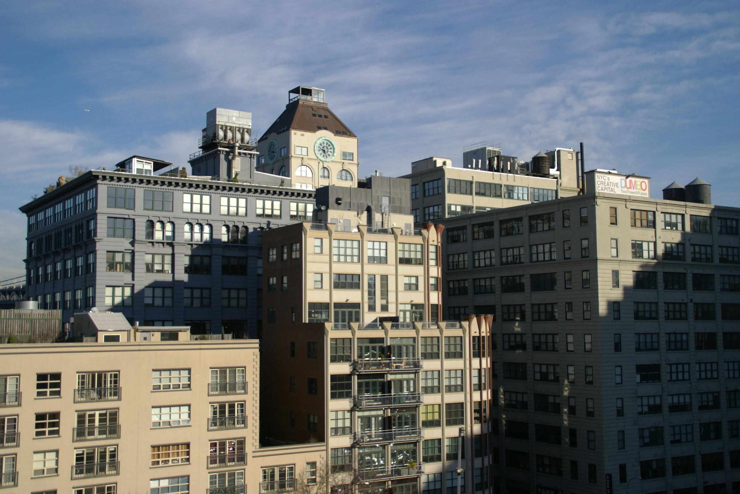 Dumbo: NYC's creative capital, and my future home. ✨