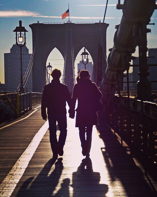 This is about to be Jimmy and I, walking into Brooklyn like 😍👫😍
