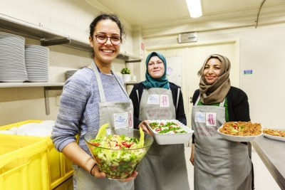 Yara and her cooks, From Syria With Love.